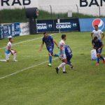 Lauro Cazal abre los brazos y celebra el 1-0 para Cobán Imperial, a los 65 minutos del partido. El paraguayo llegó a cuatro tantos en el torneo. (Foto: Eduardo Sam)