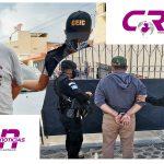 La PNC recuperó los vehículos robados y logró la captura de dos hombres quienes los conducían en distintos puntos de Quetzaltenango. (Foto: PNC)