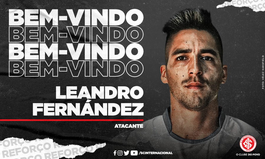 Leandro Fernández, exjugador de Comunicaciones, fue contratado por el Inter de Porto Alegre, para sustituir al goleador peruano Paolo Guerrero. (Foto: Twitter)