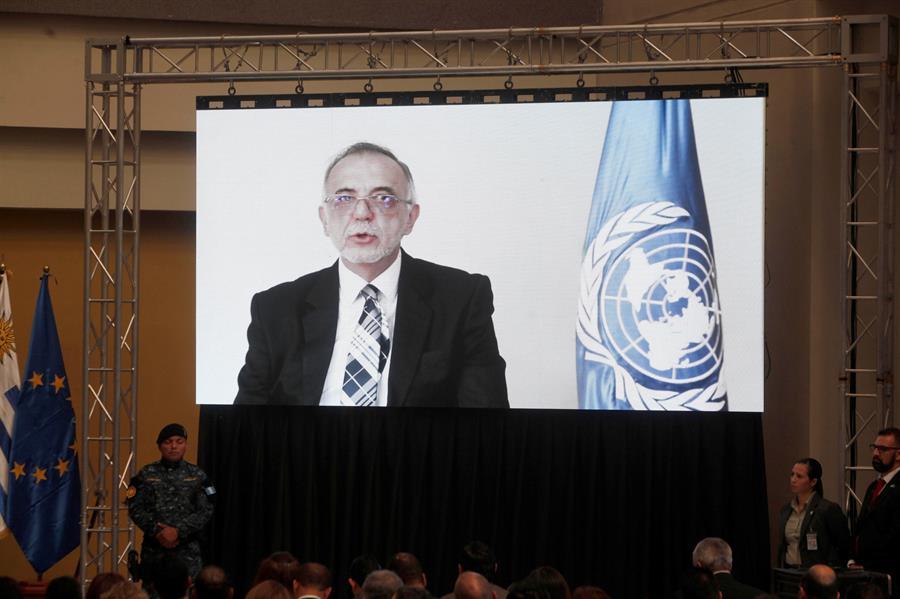 En la imagen el abogado colombiano Iván Velásquez, excomisionado de la Cicig