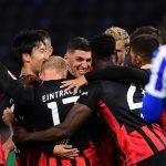 El Eintracht Frankfurt derrotó 3-1 a domicilio al Hertha de Berlín, en el inicio de la segunda jornada de la Bundesliga alemana. (Foto: EFE)