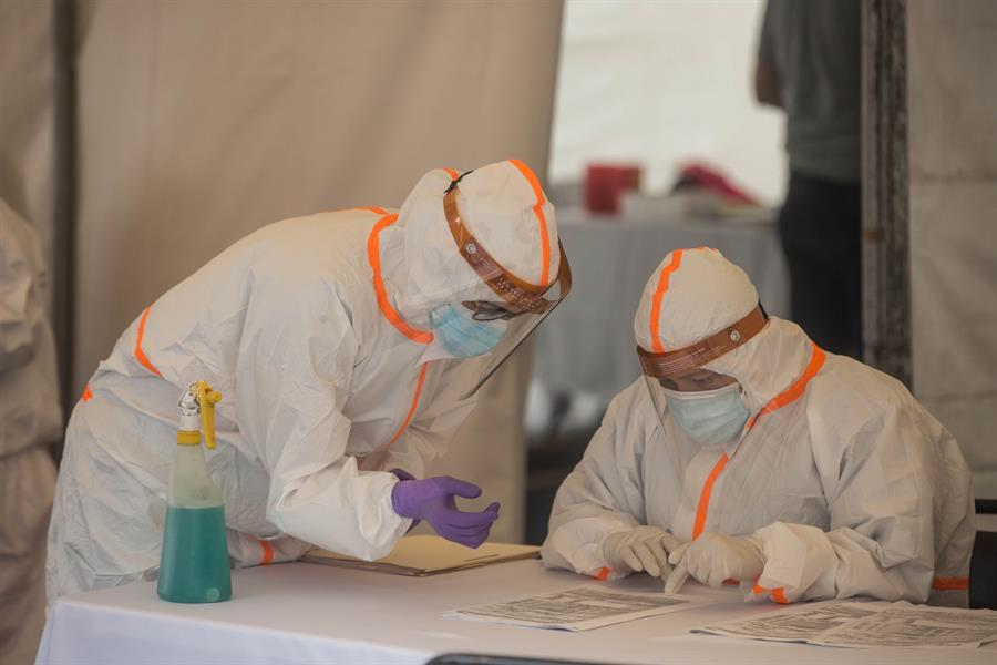 Guatemala superó los 3 mil fallecidos por COVID-19, según la última actualización de datos de Ministerio de Salud. (Foto. EFE)