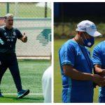 """Gerardo """"El Tata"""" Martino dirigirá a México en un amistoso contra la Selección de Guatemala, al mando de Amarini Villatoro. (Foto: EFE y FEDEFUT)"""