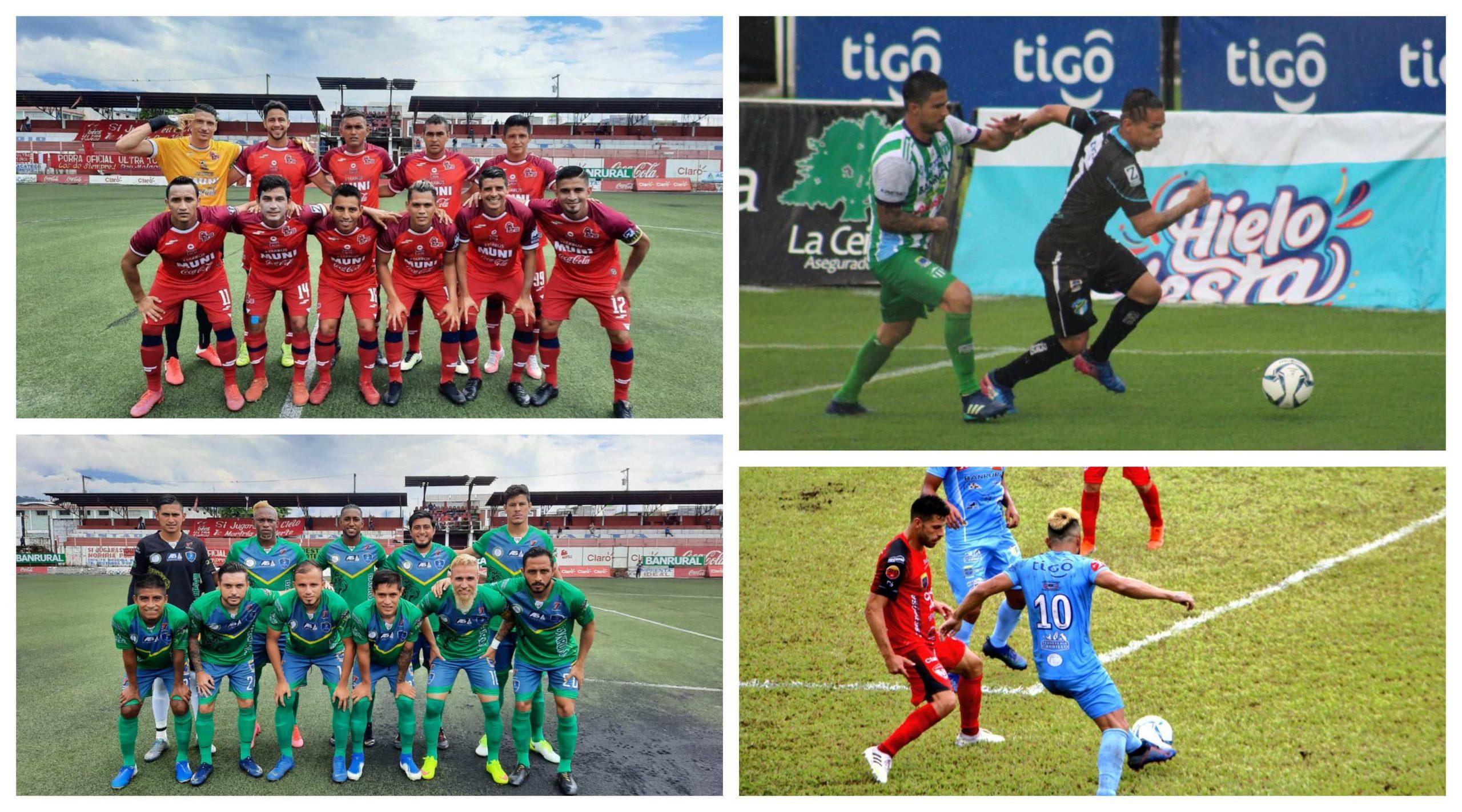 Santa Lucía FC fue el gran ganador de la jornada dominical tras vencer 2-1 de visita a Malacatec; mientras que Antigua igualó 1-1 con los Comunicaciones al igual que Sanarate con Sacachispas. (Foto: Liga Nacional)