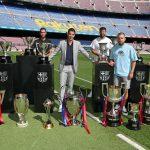 Este jueves se despidió el delantero uruguayo Luis Suárez del FC Barcelona, quien jugará con el Atlético de Madrid, luego de seis años de vestir la camisa del club catalán. (Foto: FC Barcelona)