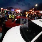 Un total de siete personas resultaron heridas en un accidente de tránsito ocurrido anoche en Tactic, Alta Verapaz. (Foto: Eduardo Sam)