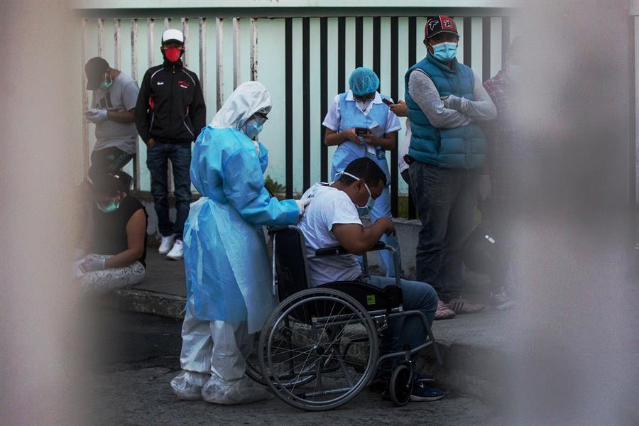 Guatemala superó los 95 mil casos de COVID-19 y agregó 25 fallecidos más. (Foto: EFE)