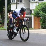 El panameño Christofer Jurado ganó la cuarta etapa de la Vuelta a Guatemala y se convirtió en el nuevo líder de la clasificación general. (Foto: CDAG)