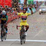 Mardoqueo Vásquez continúa como líder, después de ganar en Sololá la séptima etapa. (Foto: CDAG)