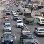 El tránsito vehicular vuelve a ser un caos en Xela. (Foto: Carlos Ventura)