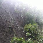 La lluvia del fin de semana provocó derrumbes e inundaciones en varios municipios de Alta Verapaz. (Foto: Eduardo Sam)