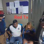 La pareja de yuotubers estuvo cerca de ser linchada en Solola. (Foto: Cristian Soto)