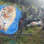 Tres militares mueren durante la madrugada de este martes 20 de octubre, en un accidente de tránsito en Zacapa. (Foto: Bomberos Voluntarios)