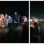 Un accidente de tránsito cobró la vida de siete personas y dejó 15 heridos en el Nuevo Palmar, Quetzaltenango. (Foto: Cortesía)
