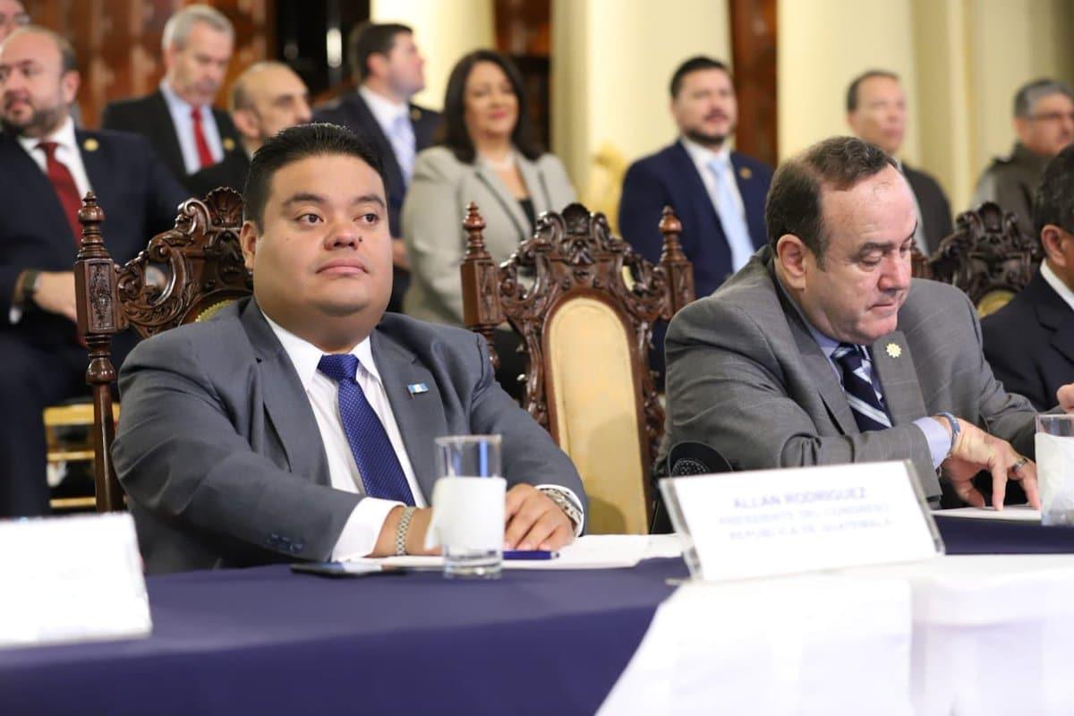 Allan Rodríguez busca su reelección como presidente del Congreso. (Foto: Congreso)