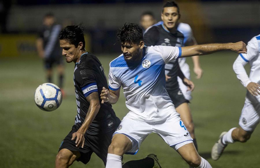 Nicaragua y Guatemala empataron sin goles en el Estadio Nacional de Managua, en un partido amistoso. (Foto: EFE)