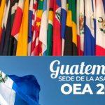 La OEA realizará su asamblea general en Guatemala el próximo año. (Foto: Twitter)