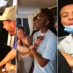 Los tres seleccionados ingleses fueron grabados en video cuando participaban en una fiesta de cumpleaños, sin guardar las medidas antipandemia del COVID-19. (Foto: Internet)