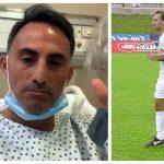 El exfutbolista argentino Diego Fernando Latorre, exjugador de Comunicaciones, está internado por coronavirus. (Foto: Redes Sociales)
