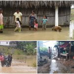 Las lluvias han dejado muertos y damnificados durante esta temporada en toda Guatemala. (Foto: CONRED)