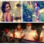 Decenas de personas realizaron una manifestación pacífica para exigir justicia por el secuestro y asesinato de la estudiante universitaria Litzy Cordón Guardado. (Foto: Twitter)