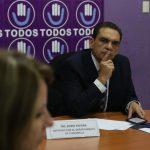 El diputado Boris España fue removido como subjefe de la bancada Todos, y en su lugar fue designado Felipe Alejos. La razón es por haber votado a favor del presupuesto 2021 el pasado 18 de noviembre. (Foto: Congreso)