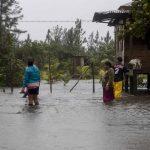 La depresión tropical Eta, que ha dejado una estela de destrucción en Centroamérica primero como huracán y luego como tormenta tropical. (Foto: EFE)