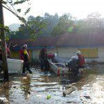 La Cruz Roja de Guatemala aseguró este miércoles que continúa en la etapa de rescate de personas en riesgo por la depresión tropical Eta. (Foto: Cruz Roja)
