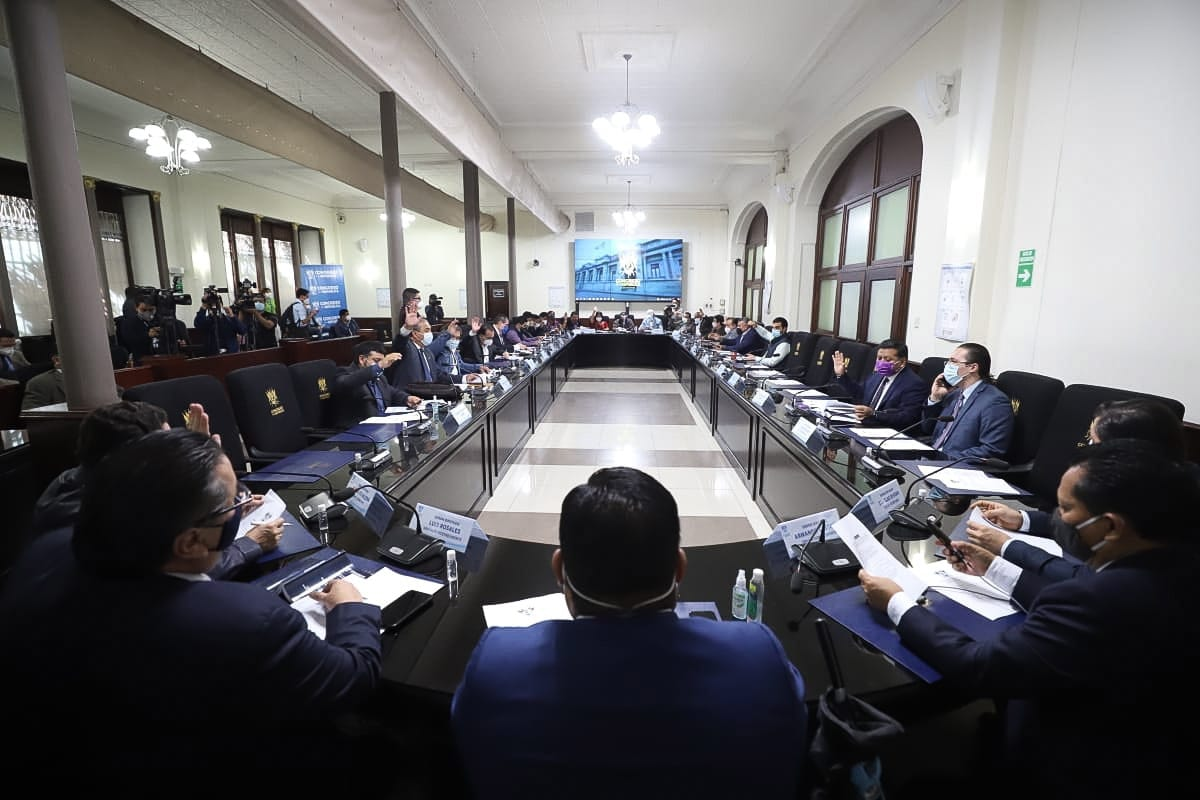 Los diputados intentarán este miércoles anular el Decreto 33-2020 con el que se aprobó el presupuesto general de ingresos y egresos 2021 por Q99 mil 700 millones. (Foto: Congreso)