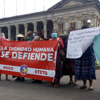 Quetzaltenango: continúan las manifestaciones en Xelajú