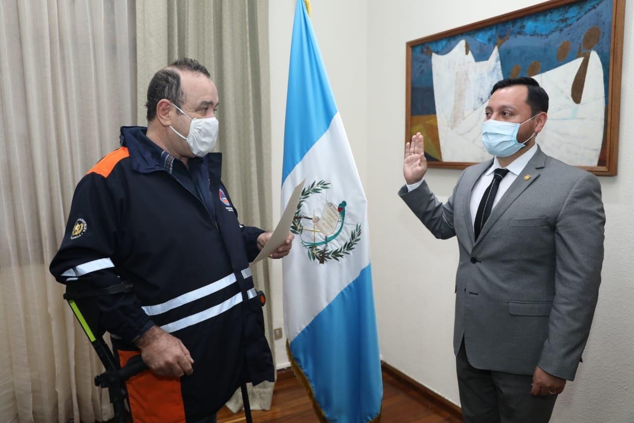 Giammattei nombra a Gendri Reyes como ministro de gobernación