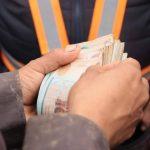 El dinero en efectivo fue contabilizado y entregado a un vecino que lo tenía a cargo, como parte de los fondos de la igledia católica. (Foto: Cortesía)