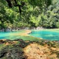 Semuc Champey: Pozas recuperan su color natural