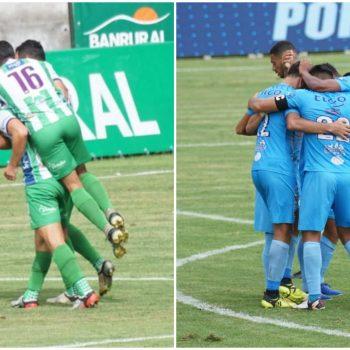 Antigua GFC y Sanarate empataron 3-3 en el Estadio Pensativo, por la fecha 11 del Apertura 2020. (Foto: Liga Nacional)