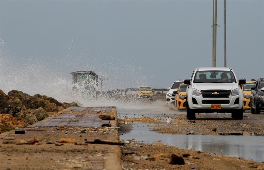 El huracán Iota ha alcanzado ya la categoría 4 y con vientos sostenidos de 225 kilómetros por hora se acerca a las costas de Centroamérica