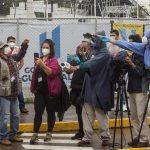 """La mayor cantidad de denuncias registradas por la APG se han dado por """"obstaculización a la fuente"""", con 31 casos, mientras que 20 periodistas han señalado haber sido sujetos de """"intimidaciones y presiones"""" y otros 19 han dicho haber recibido """"amenazas"""". EFE/Esteban Biba/Archivo"""