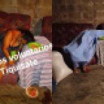 Escuintla: El cuerpo sin vida de Guadalupe Rosales García quedo sobre el sofa de la sala de su casa