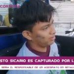 Un supuesto sicario fue capturado este lunes en Retalhuleu, después de cometer un asesinato. (Foto: Captura de pantalla)