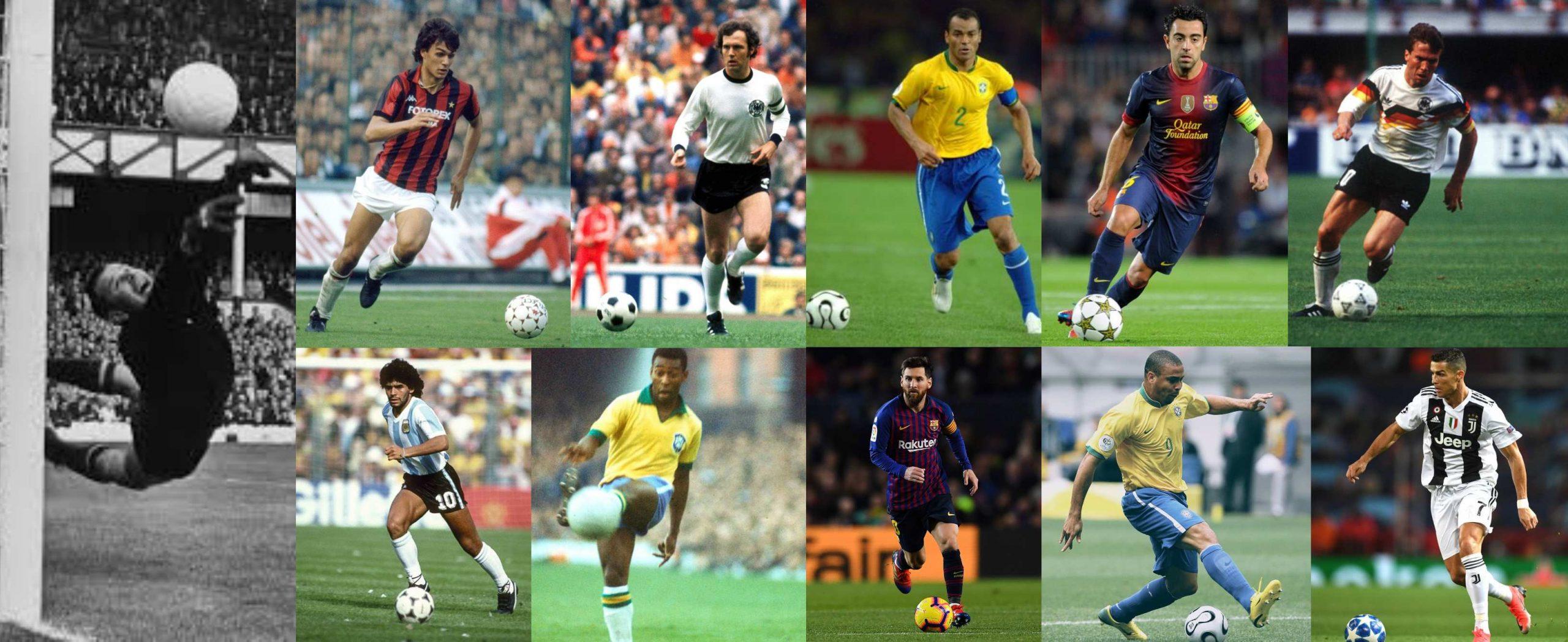 Xavi Hernández, Diego Maradona, Pelé, Leo Messi y Ronaldo Nazario integraron este lunes el Balón de Oro de France Football al mejor equipo de la historia del fútbol.