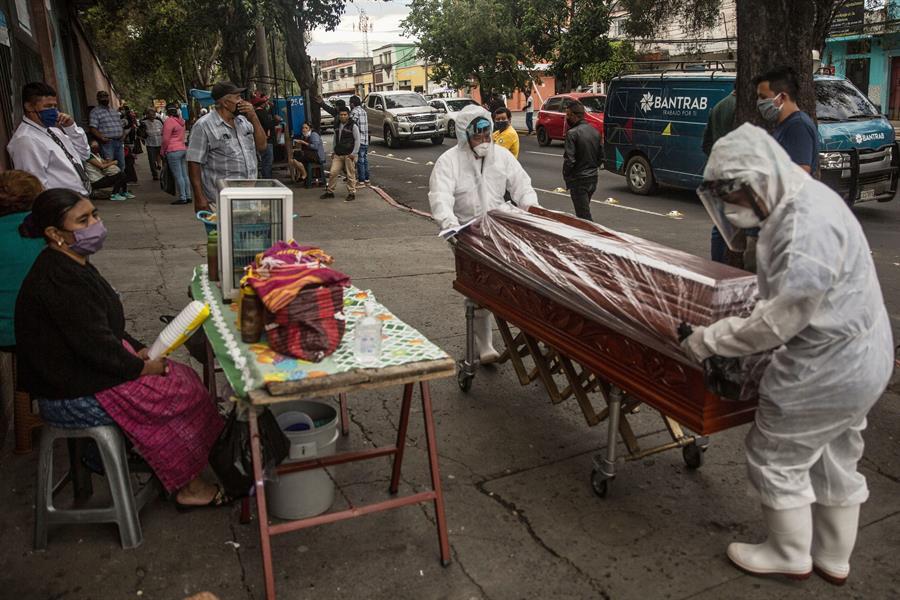 Guatemala suma 4 mil 763 fallecimientos por el COVID-19 y 135 mil 171 casos positivos