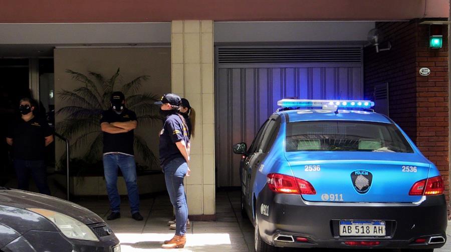 La Justicia ordenó este martes el registro del domicilio y del consultorio de Agustina Cosachov, la psiquiatra que trató a Diego Armando Maradona. (Foto: EFE)