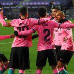 El Barcelona recupera el brillo en el José Zorrilla