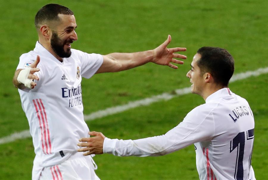 El Real Madrid pasó del brillo inicial, de deslumbrar y de marcar dos goles rápido, a sacar adelante el partido en Eibar -1-3- con apuros. (Foto: EFE)