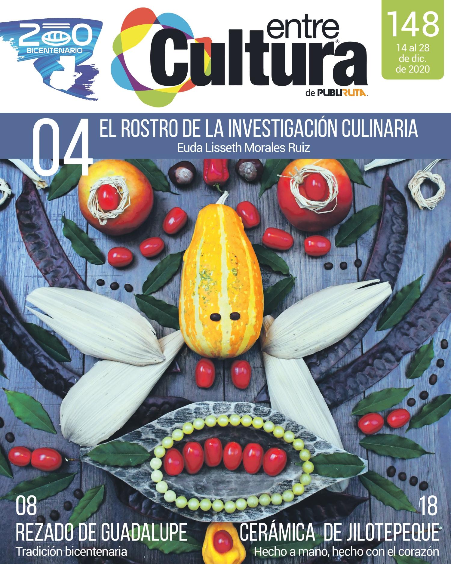 EntreCultura 148: El rostro de la investigación culinaria