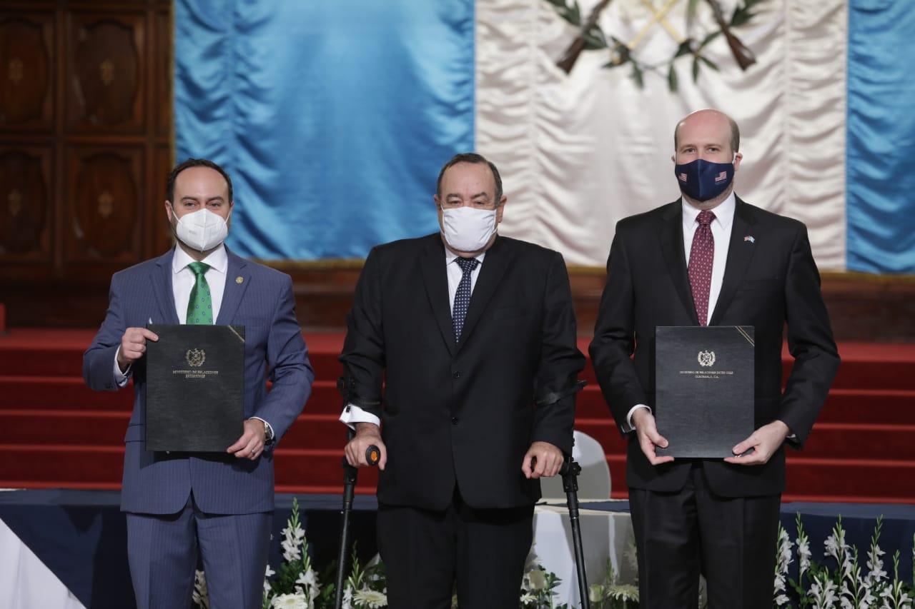 América Crece es un acuerdo entre Guatemala y Estados Unidos creado con el objetivo de potenciar inversiones y generar empleos.