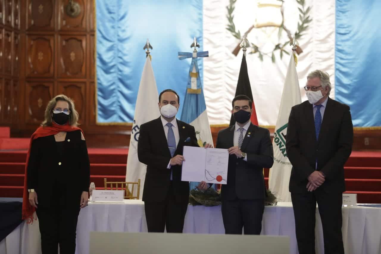Alemania realizó una donación de 12,1 millones de dólares a Guatemala para un proyecto de áreas protegidas en cinco departamentos.