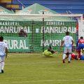 Con goles del delantero Israel Silva y Wilber Pérez, Xelajú MC logró una victoria en plena Navidad al vencer al Deportivo Sanarate FC 2-1. (Foto: Carlos Ventura)