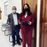 Pobladores quetzaltecos rechazaron la condena contra una persona que manifestaba el pasado 21 de noviembre en Xela.
