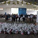 Fundación Azteca Guatemala y Generadora Eléctrica Del Norte unieron esfuerzos para llevar ayuda humanitaria a 450 familias de Izabal