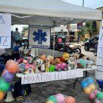 Mazatenango: Voluntarios de Vida Segura realizan maratón de juguetes